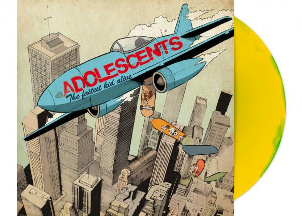 "ADOLESCENTS - The Fastest Kid Alive 12"" LP - INKSPOT"