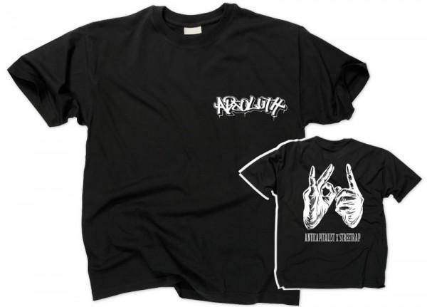 ABSOLUTH - Anticapitalist Streetrap T-Shirt - DIY Print