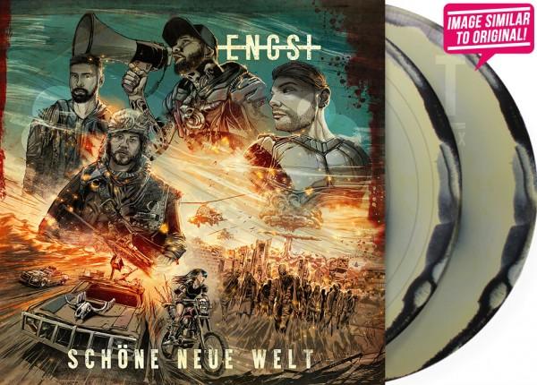 """ENGST - Schöne neue Welt DO-12"""" LP LTD NAVYGREEN/BLACK"""