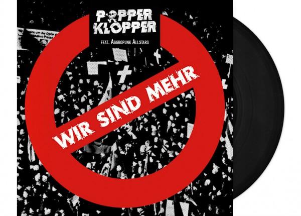 """POPPERKLOPPER - Wir sind mehr 7"""" EP"""