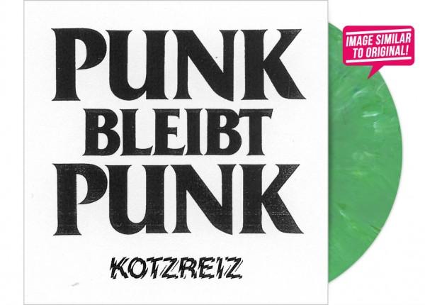 "KOTZREIZ - Punk bleibt Punk 12"" LP LTD - GREEN"