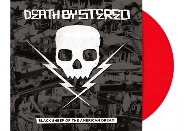 "DEATH BY STEREO - Black Sheep Of The American Dream 12"" LP LTD - RED"