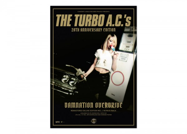 TURBO A.C.'s, THE - Damnation Overdrive Poster
