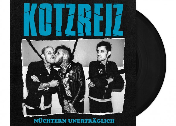 """KOTZREIZ - Nüchtern unerträglich LTD 12"""" LP - BLACK"""