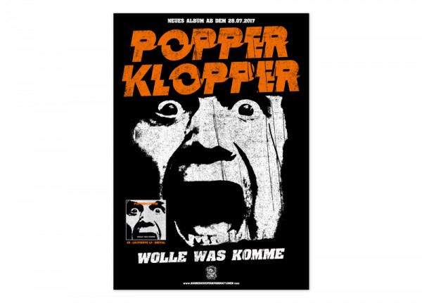 POPPERKLOPPER - Wolle was komme Poster