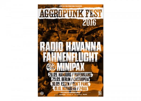 AGGROPUNK - Fest 2016 Poster