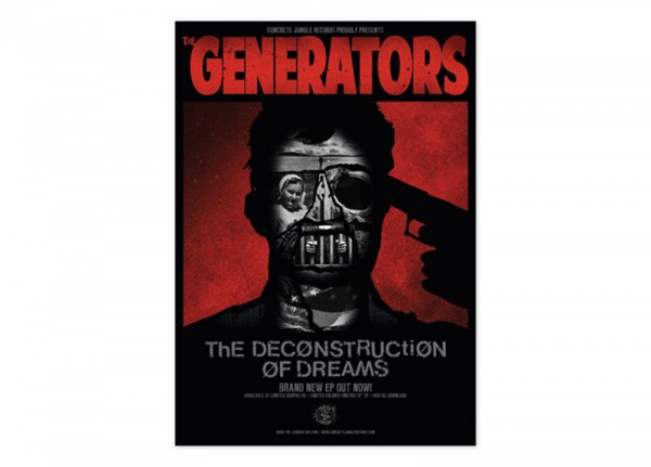 GENERATORS, THE - The Deconstruction Of Dreams Poster