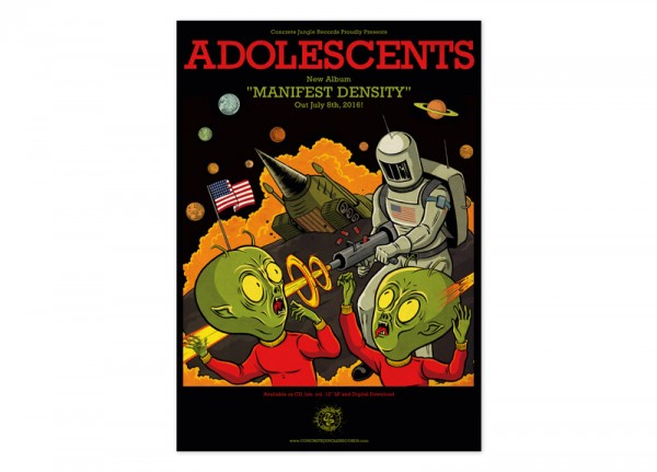 ADOLESCENTS - Manifest Density Poster