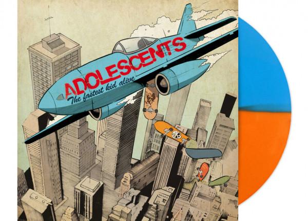 "ADOLESCENTS - The Fastest Kid Alive LTD 12"" LP - HALF/HALF"