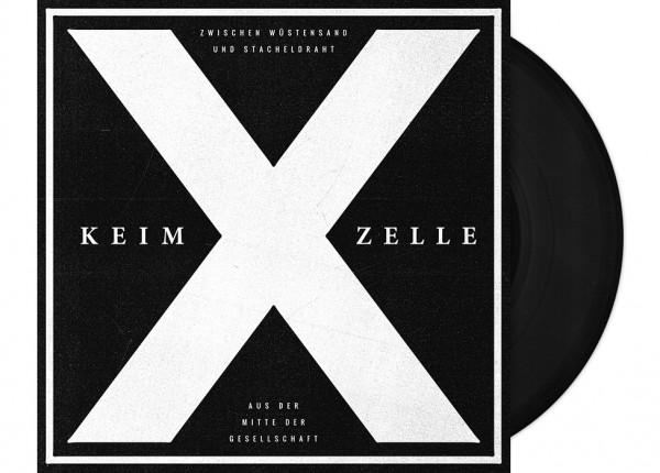 """KEIM-X-ZELLE - Zwischen Wüstensand und Stacheldraht 7"""" Single LTD"""