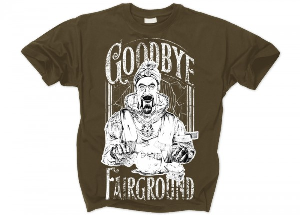 GOODBYE FAIRGROUND - Fortune Teller T-Shirt
