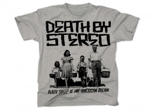 DEATH BY STEREO - Black Sheep T-Shirt