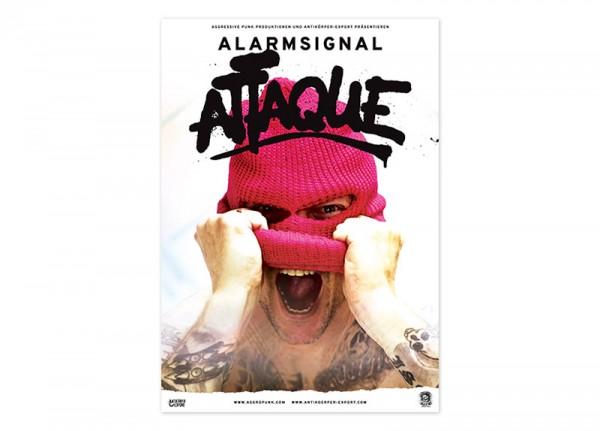 ALARMSIGNAL - Attaque Poster