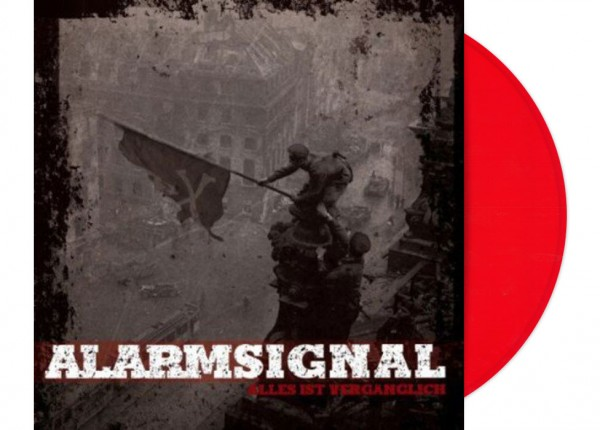"""ALARMSIGNAL - Alles ist vergänglich 12"""" LP LTD - RED"""