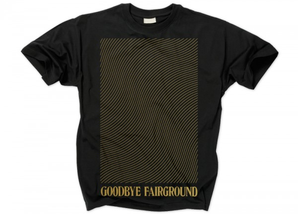 GOODBYE FAIRGROUND - Western Gold T-Shirt