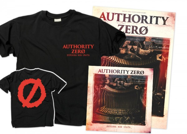 AUTHORITY ZERO - Persona Non Grata Bundle