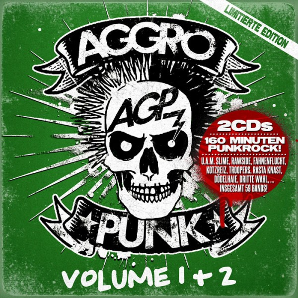 V.A. - Aggropunk Vol. 1 + 2 CD Box