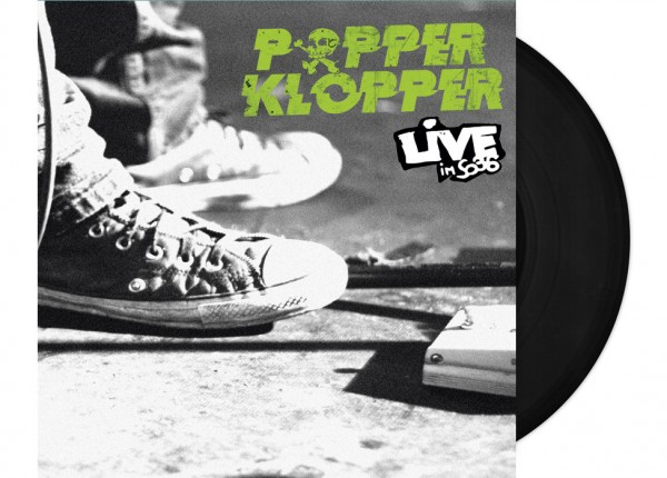 "POPPERKLOPPER - Live im SO36 12"" LP LTD - BLACK"