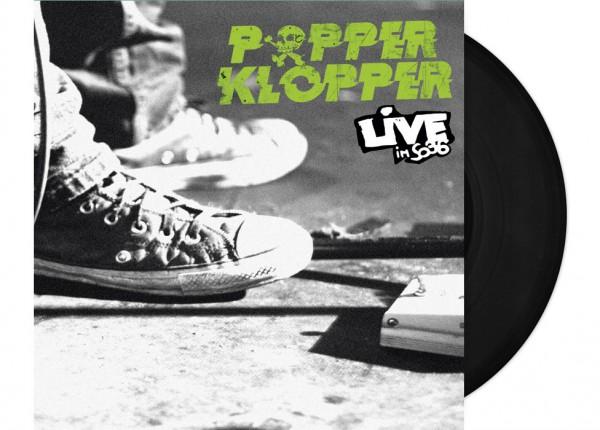 "POPPERKLOPPER - Live im SO36 12"" LP - BLACK"