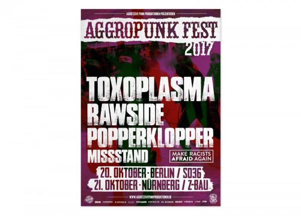 AGGROPUNK - Fest 2017 Poster