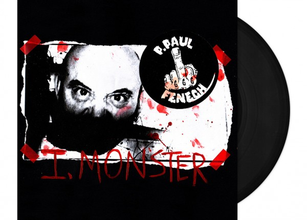 "P. PAUL FENECH - I, Monster 12"" LP LTD - BLACK"