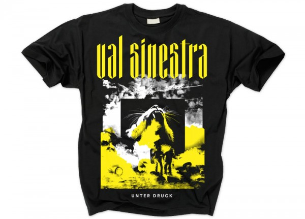VAL SINESTRA - Unter Druck Cover T-Shirt