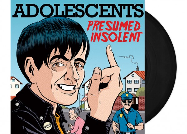 "ADOLESCENTS - Presumed Insolent 12"" LP LTD"