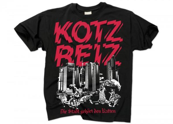 KOTZREIZ - Die Stadt gehört den Ratten T-Shirt