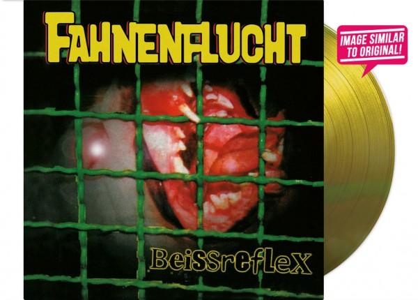 """FAHNENFLUCHT - Beissreflex 12"""" LP LTD - YELLOW"""