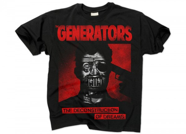 GENERATORS, THE - The Deconstruction Of Dreams T-Shirt