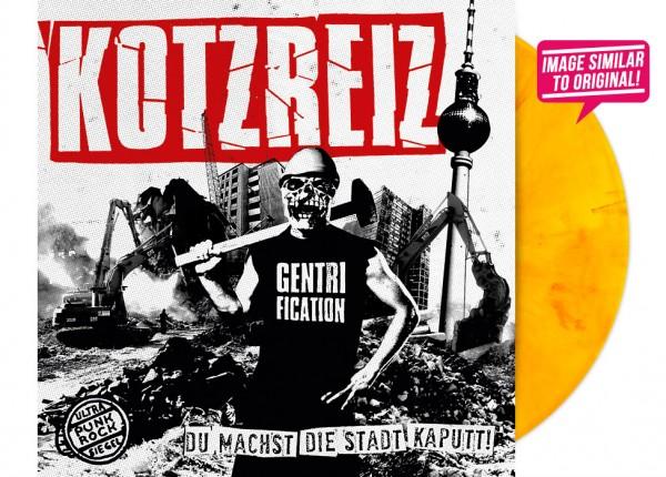 """KOTZREIZ - Du machst die Stadt kaputt 12"""" LP LTD - ORANGE"""