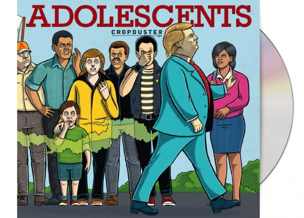 ADOLESCENTS - Cropduster LTD DIGIPAK CD