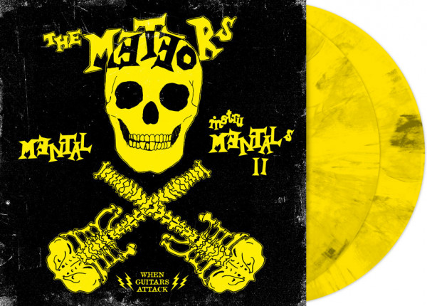 "METEORS, THE - Mental Instrumentals II 12"" DO-LP LTD YELLOW"