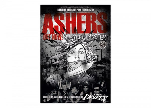 ASHERS - Kill Your Master Poster