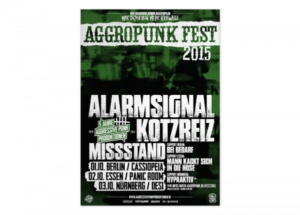 AGGROPUNK - Fest 2015 Poster