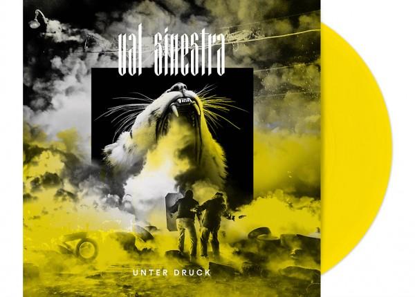 """VAL SINESTRA - Unter Druck 12"""" LP LTD - YELLOW"""