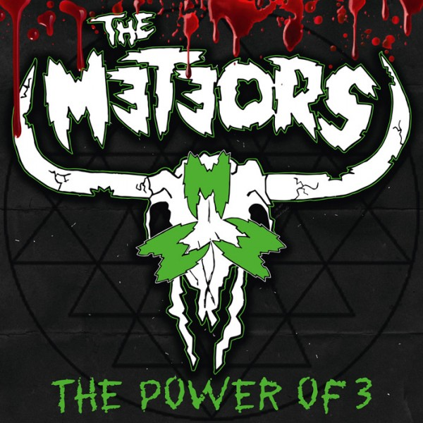 METEORS, THE - The Power Of 3 LTD DIGIPAK CD