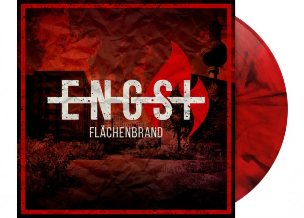 "ENGST - Flächenbrand 12"" LP LTD RED/BLACK MARBELED"