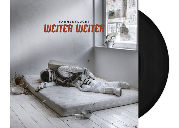 """FAHNENFLUCHT - Weiter Weiter 12"""" LP - BLACK"""