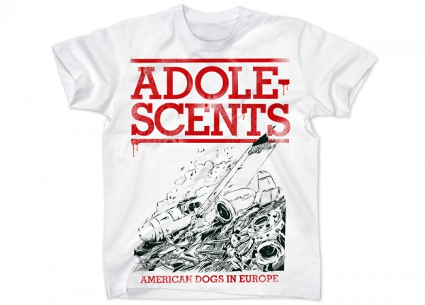 ADOLESCENTS - American Dogs In Europe T-Shirt