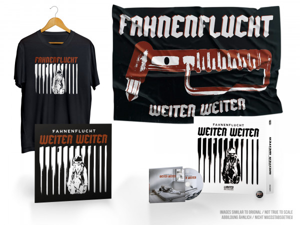 FAHNENFLUCHT - Weiter Weiter LTD CD FAN BOX