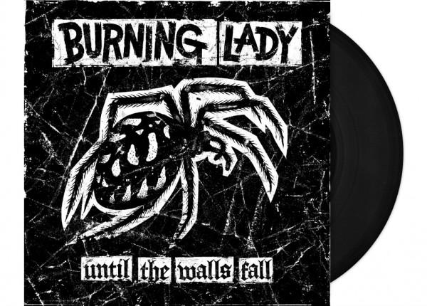 """BURNING LADY - Until The Walls Fall 12"""" LP LTD - BLACK"""