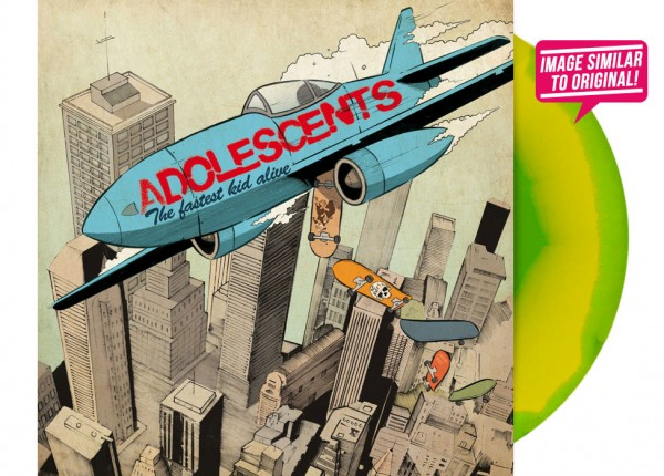 "ADOLESCENTS - The Fastest Kid Alive LTD 12"" LP - INKSPOT"