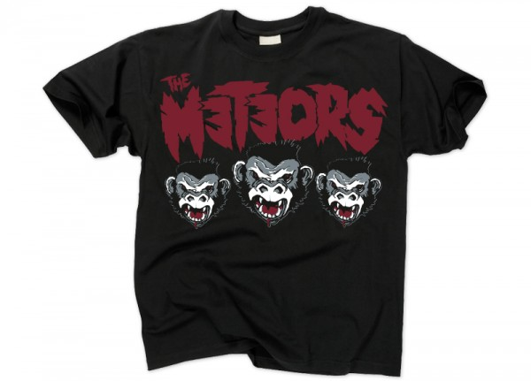 METEORS, THE - 3 Monkeys T-Shirt