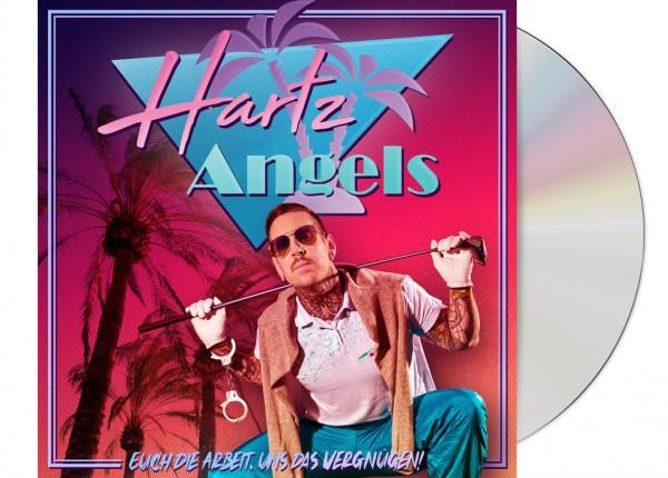 HARTZ ANGELS - Euch die Arbeit, uns das Vergnügen! CD Cardboard
