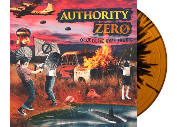"AUTHORITY ZERO - Ollie Ollie Oxen Free LTD 12"" LP - SPLATTER"