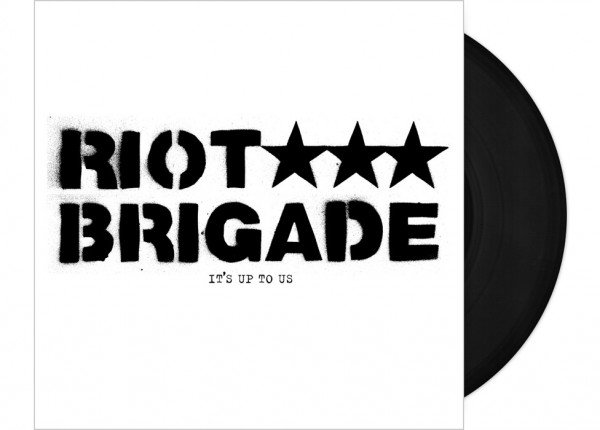 "RIOT BRIGADE - It's Up To Us 7"" EP LTD - BLACK"