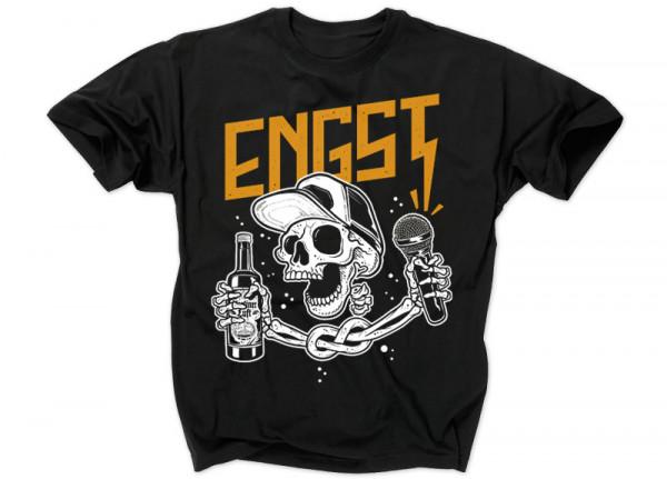 ENGST - Skelett T-Shirt