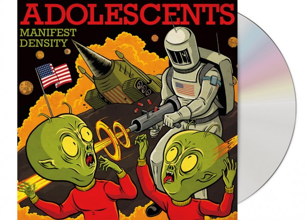 ADOLESCENTS - Manifest Density CD