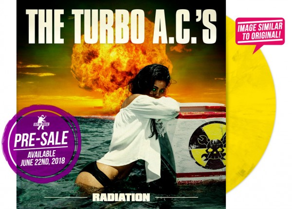 "TURBO A.C.'S, THE - Radiation LTD 12"" LP - YELLOW"